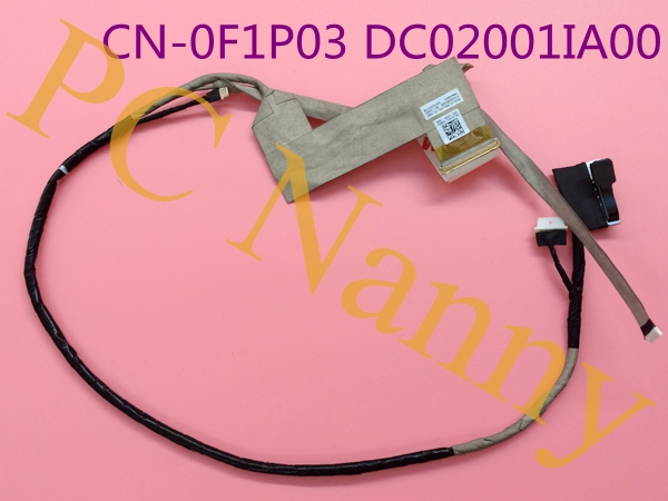 GENUINE FOR Dell Latitude E6420 6420 LCD SCREEN VGA LVDS CABLE FLEX F1P03 CN-0F1P03 DC02001IA00