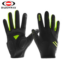 High Elasticity Breathable Touch Screen Cycling Gloves Long Finger MTB Bike Road Bike Bicycle Gloves Spring Blue Green Pink M~XL sahoo 42890 breathable touch screen full finger cycling gloves black blue xl pair