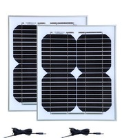 Solar Kit Set Free Shipping Poratble Small Solar Panels 12V 10W 2 Pcs Lot PV DC