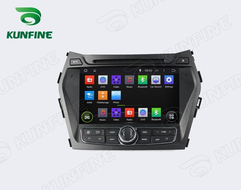 Car dvd GPS Navigation player for IX45 2013  8 inch C