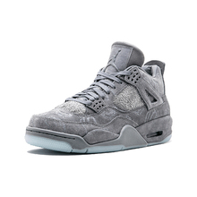 887463073c83 2019 Original New Arrival Official KAWS x Jordan 4 Cool Grey Breathable Men s  Basketball Shoesall Chaussures