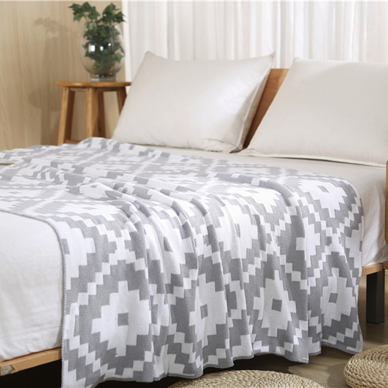 Online buy wholesale knitted plaid from china knitted - Plaid para sofa ...