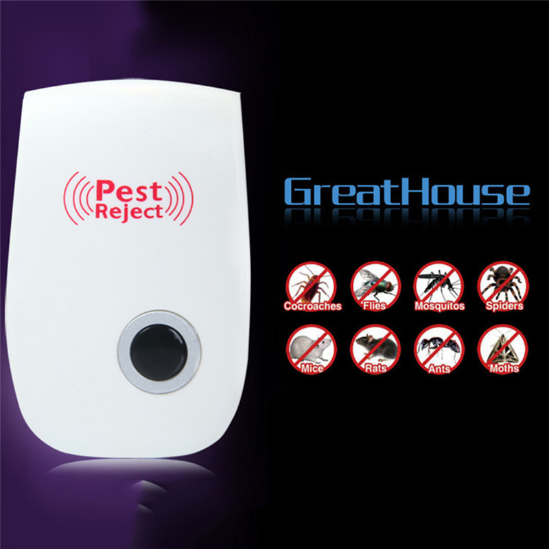 Electronic Ultrasonic Mosquito Killer USEU plug Reject Bug Mosquito Cockroach Mouse Pest Reject Magnetic Killer Repeller outdoor indoor (11)