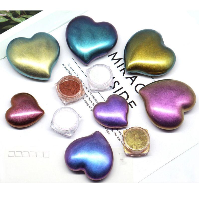 Mirror Pearl Powder Epoxy Resin Glitter Chameleon Pigment Resin Jewelry Making
