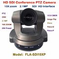FLA-SDI10XP   1080P SDI 2 MP PTZ Video meeting Camera, HD-SDI 10x Optical Zoom Conference Camera Video VISCA PELCO-D Plug & Play