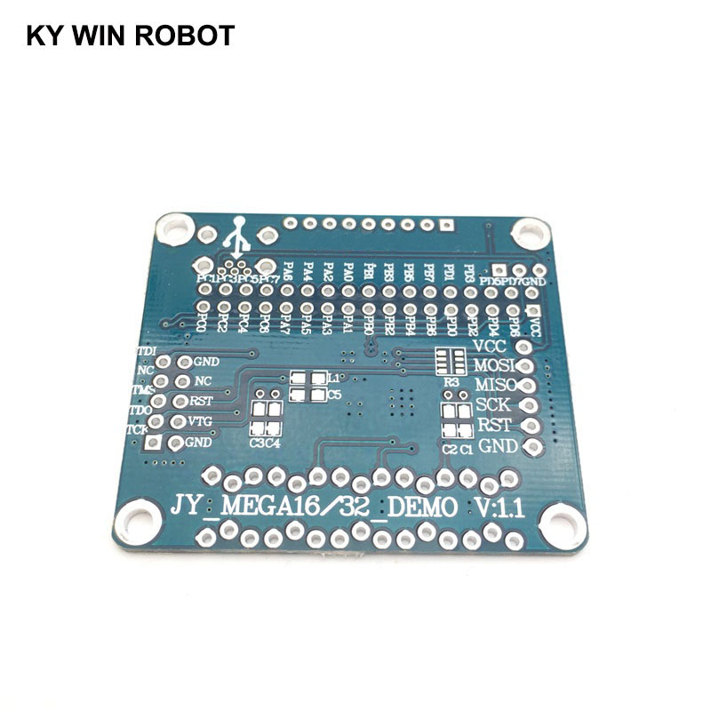 1pcs Blank PCB System Development <font><b>Board</b></font> for ATMEGA16(L) / <font><b>ATMEGA32</b></font>(L) AVR Minimum system <font><b>board</b></font> avr core <font><b>board</b></font> Development <font><b>Board</b></font> image
