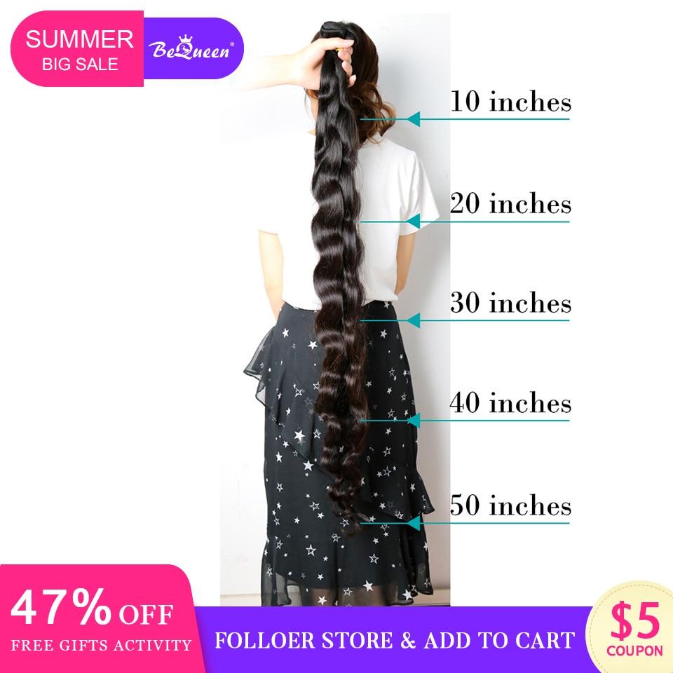 Bequeen Brazilian Body Wave Hair Weave Bundles Raw Human Hair Bundle Long Virgin Hair Extension 1