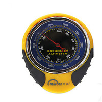 4 In 1 Functions Digital Mini Compasses Altimeter Thermometer Barometer Equipment With Carabiner Hight Quality Outerdoor