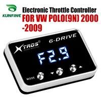 Auto Elektronische Drossel Controller Racing Gaspedal Potent Booster Für Volkswagen POLO (9N) 2000 2009 Benzin Tuning Teile|Auto-elektronische Drossel-Controller|Kraftfahrzeuge und Motorräder -