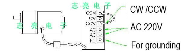 motor da c.a. 110 v 220 v