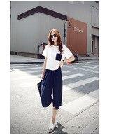 Elegant Women T Shirt Skirt Two Piece Suit Chiffon Relaxed Leisure O Neck Short Sleeve Motion