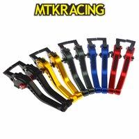 MTKRACING CNC Aluminum Short Adjustable Motorcycles Brake Clutch Levers for Honda CBR400RR NC23 NC29 NC35 1988 1994