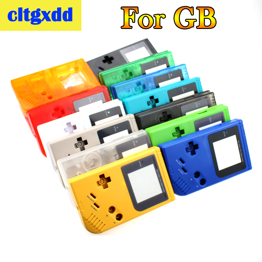 Cltgxdd For Game Boy Classic Game Case Plastic Shell Cover For Nintendo GB Console Housing Game Machine Shell Accessories