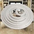 Schwere Aluminium Rotierenden Lager Plattenspieler Runde Schwenker-Platte Geschraubt oder Feste Oberfläche Glatte Einfach Setup Drehen Tisch
