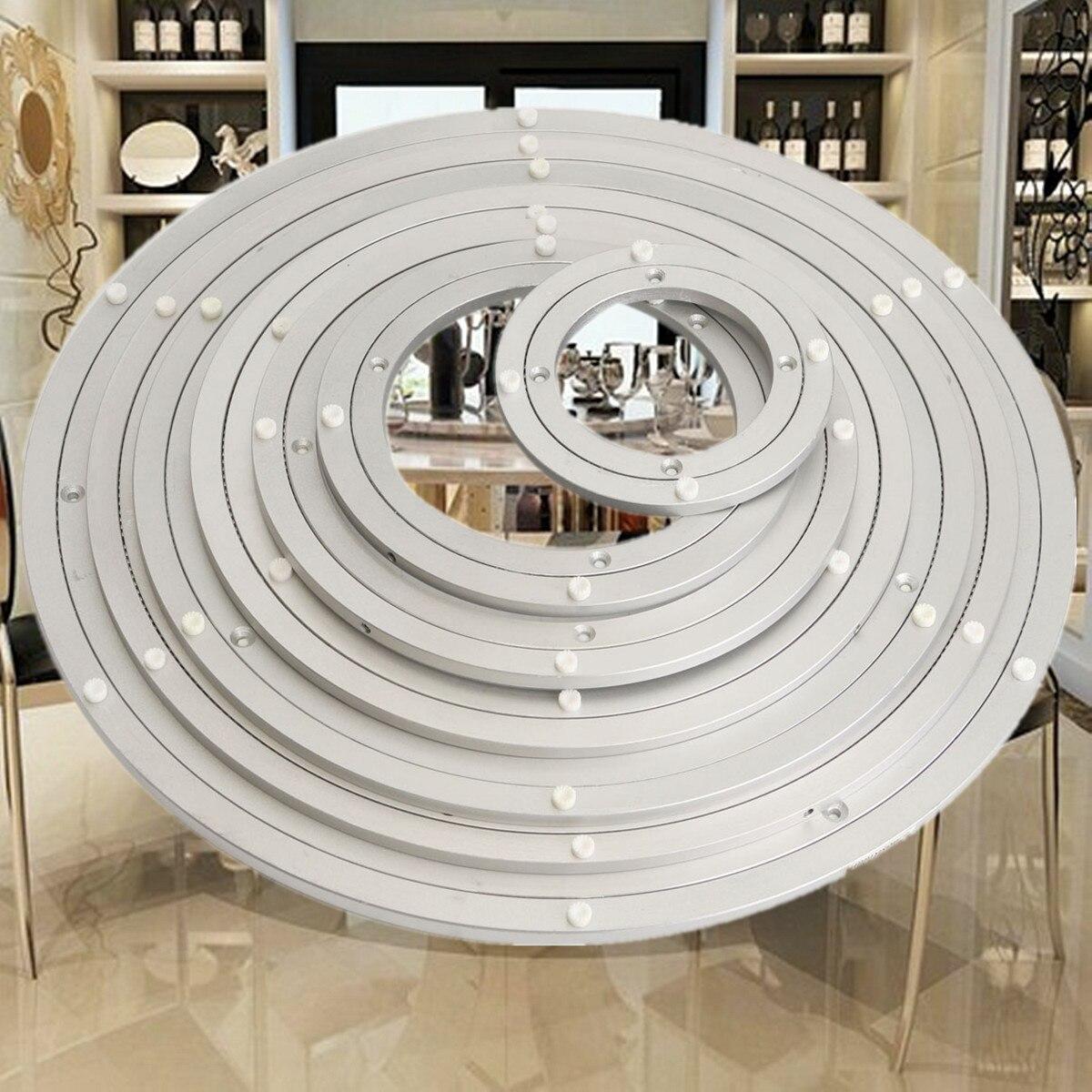 Schwere Aluminium Rotierenden Lager Plattenspieler Runde Schwenker-platte Geschraubt Oder Feste Oberfläche Glatte Einfach Setup Drehen Tisch Heimwerker