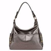 High Quality Women Bag Genuine Leather Fashion Ladies Shoulder Messenger Bags Crossbody Women's Handbags Totes Bolsas Femininas