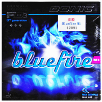 DONIC Table Tennis Rubber Bluefire M1/M2/M3 Spin Speed pimples in with sponge ping pong tenis de mesa