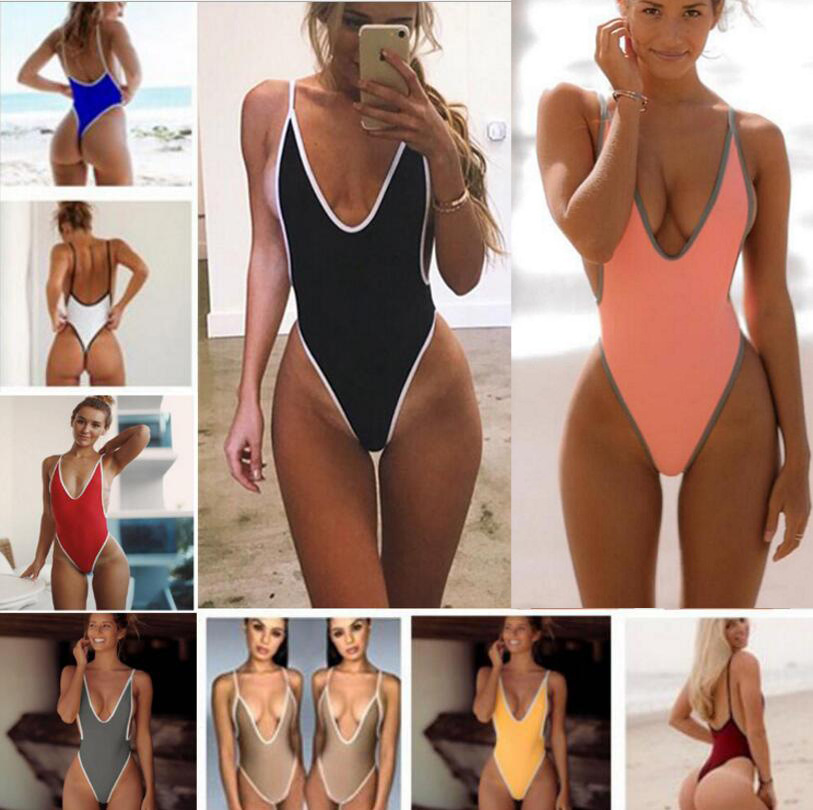 297346561fb8f Buy sexy one piece swimsuit thong bodysuit and get free shipping on  AliExpress.com