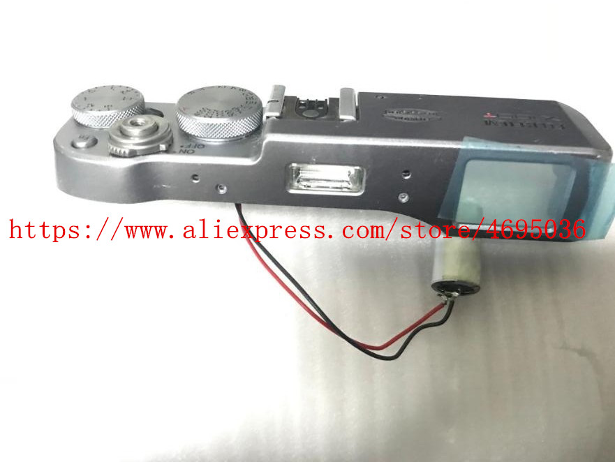 Unité de pièce de panneau de commande de couvercle supérieur d'origine pour le remplacement de caméra FUJI X100T