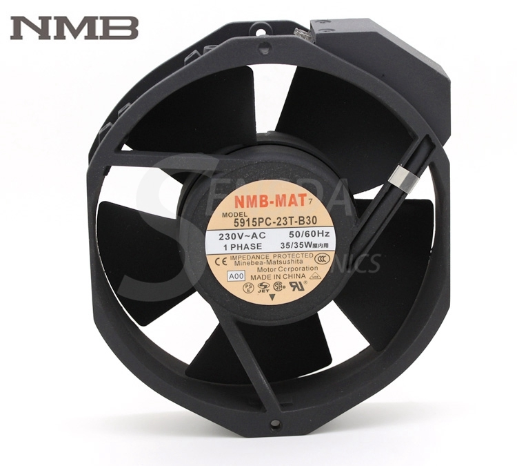Original NMB Blowers 5915PC-23T-B30 1738 230V 170mm industrial blower server cooling fans цена в Москве и Питере