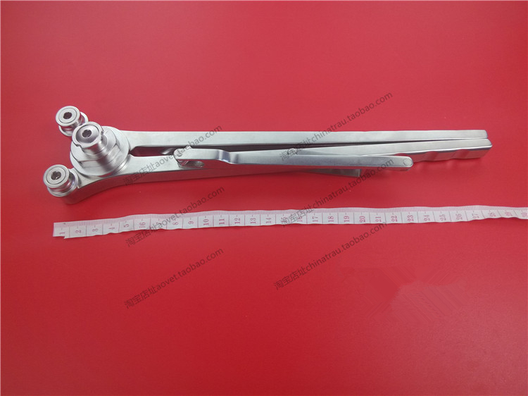 medical orthopedic instrument Spine rod bending forceps Lumbar vertebra 5.5 6.0 rod screw system xinrong Titanium bar bender