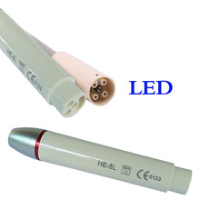 1 pc Dental Scaler Piezo LED Handle HE-5L for EMS/Woodpecker/H5-LED Series Device Equipment