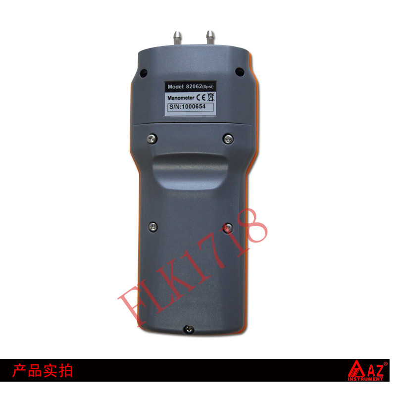 AZ82062 Digital Manometer High Accurary Pocket Size 6 Psi Economic Pressure Gauge Differential Pressure Meter Tester