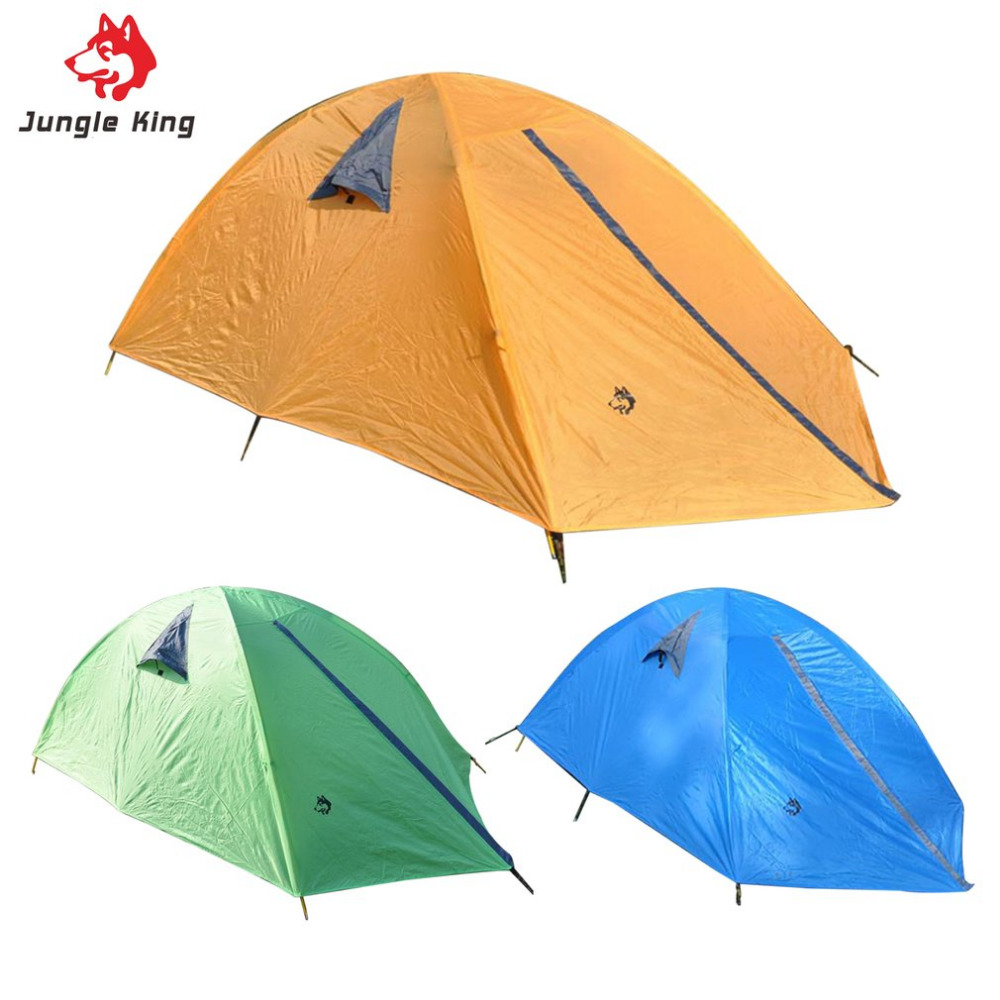 Glass Fiber Fiberglass Rod Camping Tent For Outdoor Travel Hiking Picnic Beach Tent Rainproof Windproof Waterproof 3 Colors outdoor camping hiking automatic camping tent 4person double layer family tent sun shelter gazebo beach tent awning tourist tent