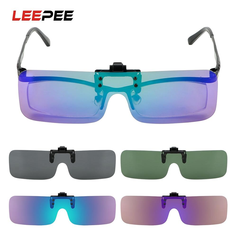 Anti-glare Clip On Sun Glasses Driving Car Driver Goggles Sunglasses