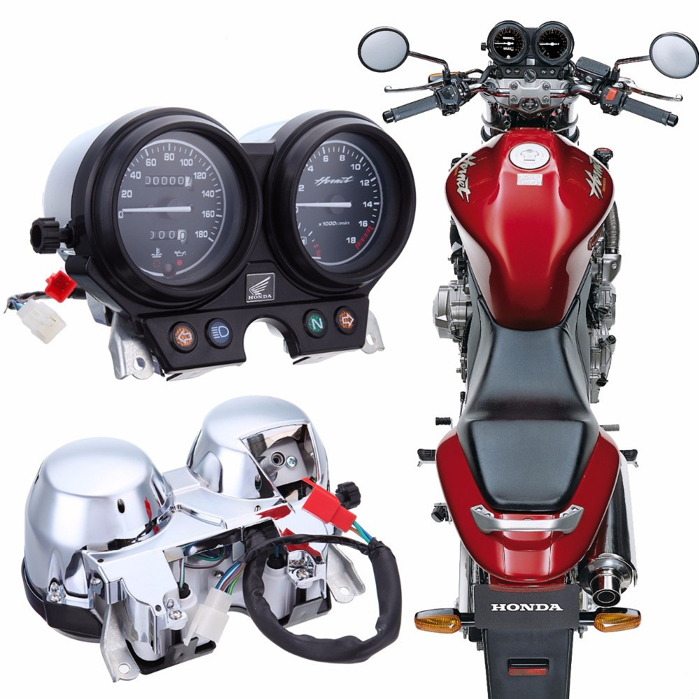 Motorcycle Speedometer Tachometer kilometer Gauges Kits Fit Honda Hornet 250 2000-2005 2001 2002 2003 2004 motorcycle speedometer gauge cover tachometer for honda goldwing gl1800 2001 2002 2003 2004 2005 speedometer tachometer cover