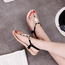 Flat Sandals Shoes High Quality Comfortable Breathable New Summer Sandals Shoes Big Yard Shoes Wholesale Size 36-42