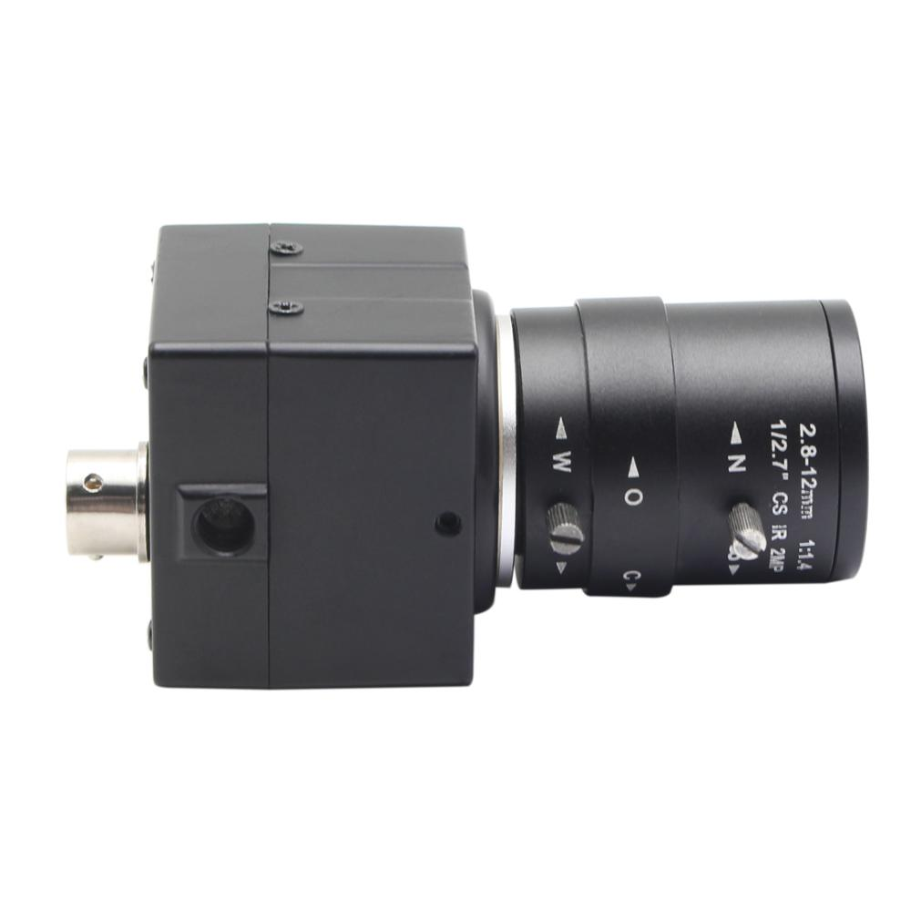 Elp USB камеры YUY2 и mjpeg 720 P 2.8-12 мм руководство варифокальным CS креплением машины видения видеонаблюдения видео модуль камеры