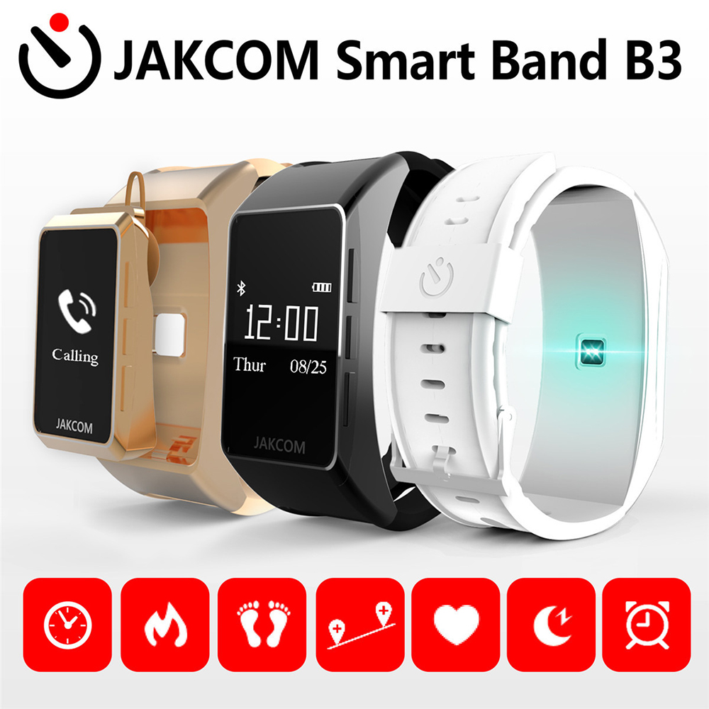Jakcom B3 Smart Band Wireless Calling Heart Rate Monitor Smart Bracelet Bluetooth Headset Fitness Tracker Pedometer
