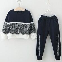 Autumn Winter Girls Clothes 2pcs Set Christmas Outfit Kids Clothes Tracksuit Suit For Girls Clothing Sets