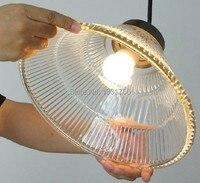 Лампа накаливания Подвесная лампа столовая старинные стекло подвесной светильник просто подвесной светильник Северная Европа промышленн