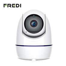 FREDI 1080P IP Camera Auto Tracking Of Human Wireless WiFi Surveillance CCTV Pan/Tilt Night Vision Home Security