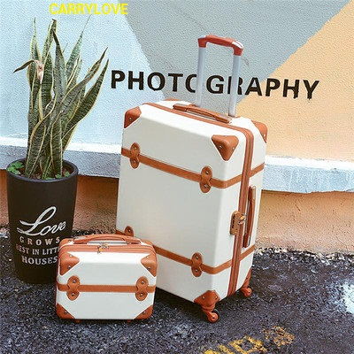 CARRYLOVE 2018 fashion luggage series 20/22/24/26 inch handbag+ Rolling Luggage Spinner brand Travel Suitcase