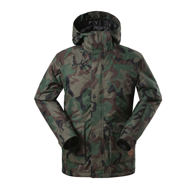 Camouflage Ski Jackets Men Winter Outdoor Ski Jacket Windproof Snow Wear Clothes Warm Snowboard Jacket Gsou Snow