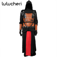 Star Wars Darth Revan Black Cape Cloak Cosplay Costumes Halloween Outfit For Man Adult Custom Made Cosplay Costume