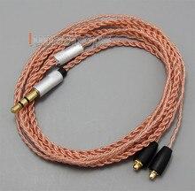 TPE Skin OCC Wire Earphone Cable For Fostex TE-05 TE-07 Ultimate UE900 JVC HA-FX850 Pioneer DJE 1500 2000 earphone LN005047