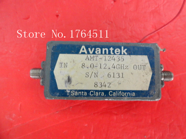 [BELLA] AVANTEK AMT-12435 7.0-12.4GHz 12V SMA Supply Amplifier