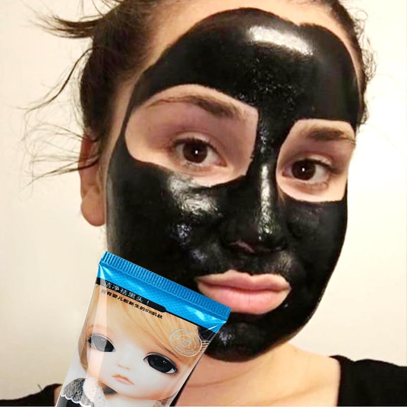 Beyoutiful Black Out Pore Treatment: PIBAMY Black Head Remover Nose Masks Pore Strip Black Mask