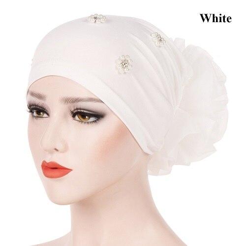 white Hijabs
