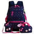 Детские школьные сумки  рюкзак с принтом для девочек-подростков  школьные рюкзаки  3 шт./компл.  Mochila  детский дорожный рюкзак  красивая сумка ...