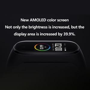 Image 3 - Xiao mi mi band 4, smart Armband Kleur Scherm Bluetooth 5.0 Smart Armband Hartslag Fitness 135 mAh Smart Horloge Smart Polsband