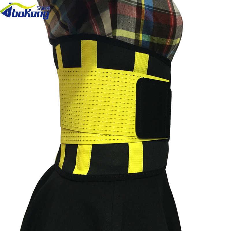 Для женщин сетки Талия Обучение Пояс-тренажер спортзал фитнесс корсет для тела бандаж на пояс S-XXL