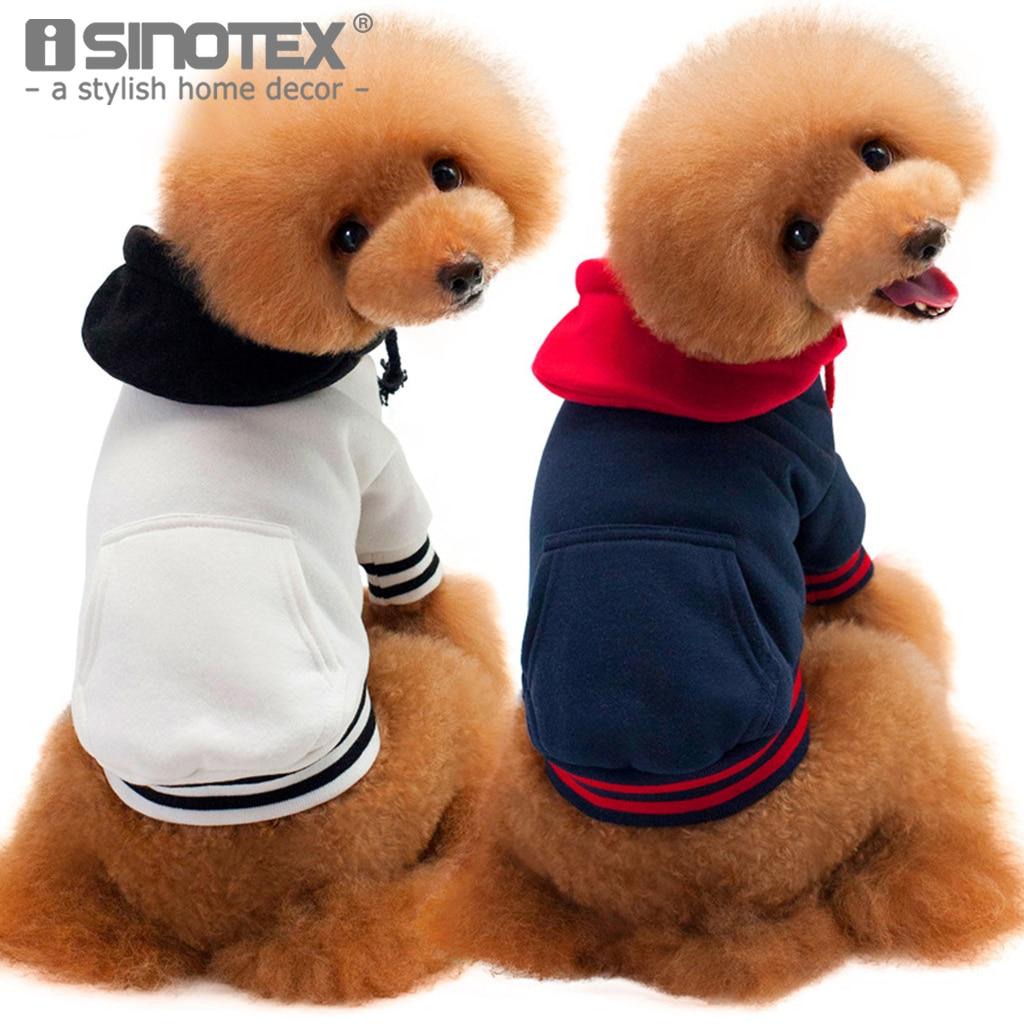 New Cute Cotton Fabric Fashion Sport Suit Largr Size Pet Dog Cat Puppy Clothes Coat Clothing Soft Warm Pet Apparel Outfit 1 PCS