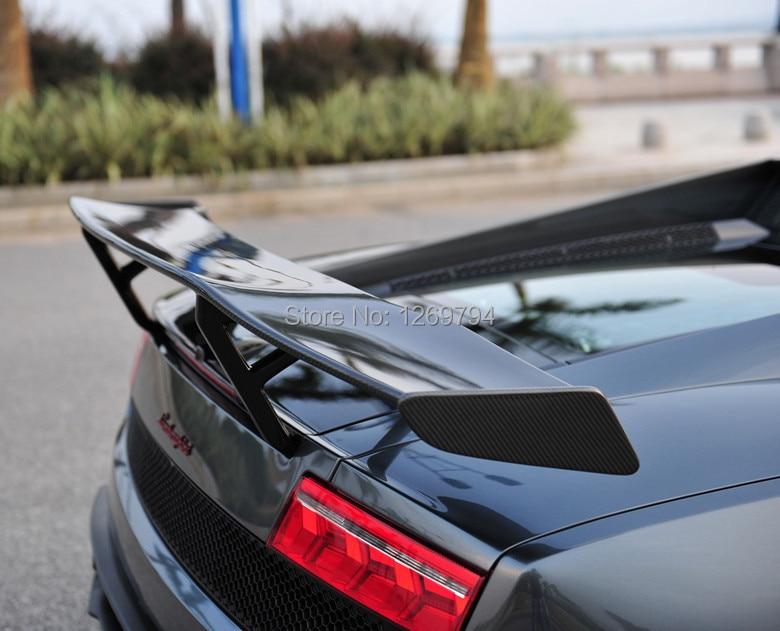 Gallardo LP550 LP560 LP570 DMC Style Carbon Fiber Rear GT Wing For Lamborghini  Gallardo NICE FITMENT