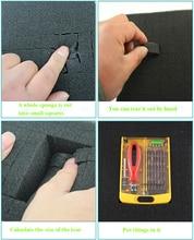 Бесплатная доставка 480*350 мм предварительно вырезанная пена мягкая пена для ручного инструмента набор/ящик для инструментов