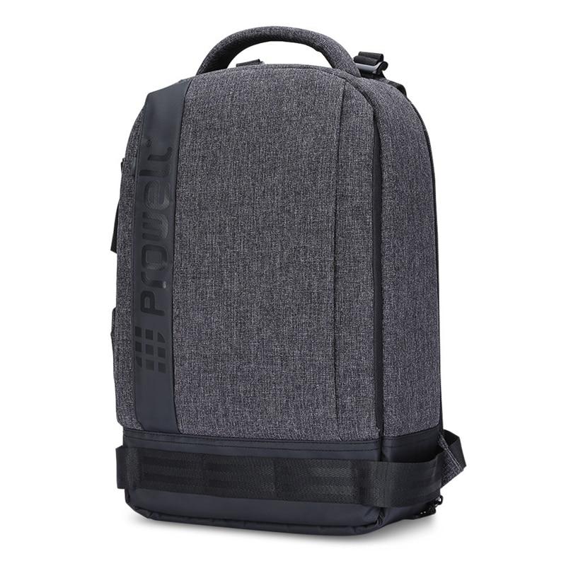 Digital Gear Bags Accessories & Parts Batik Canvas Photo Backpack Waterproof Men Tripod Bag Outdoor Wear-resistant Large Camera Bag For Snoy Nikon Canon Bright In Colour